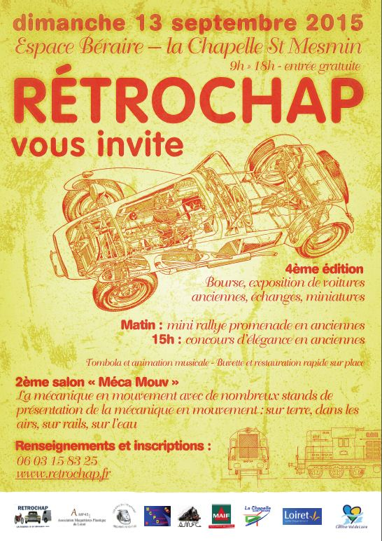 Bourse Retrochap 2015